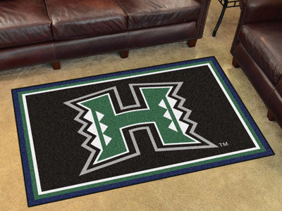UH Rainbow Warriors 4' x 6' Area Rug - FanMats 20180