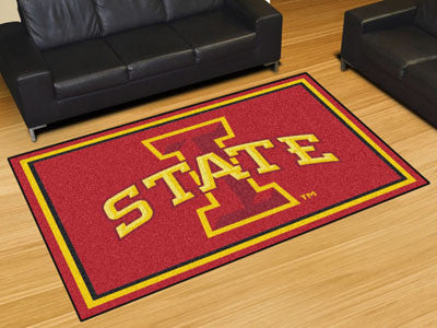 The ISU Cyclones Area Rug Size 5x8, Fan Mats 20190