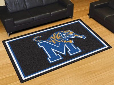 The Memphis Tigers Area Rug Size 5x8, Fan Mats 20205