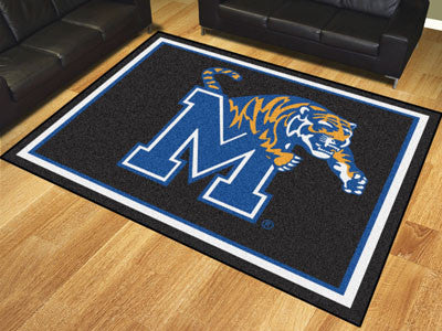 The Memphis Tigers 8x10 Area Rug - Fan Mats 20206