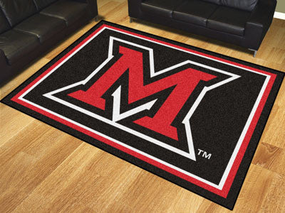 The Miami Redhawks 8x10 Area Rug - Fan Mats 20212