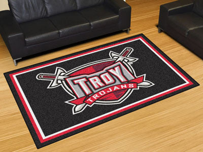 The TU Trojans Area Rug Size 5x8, Fan Mats 20267