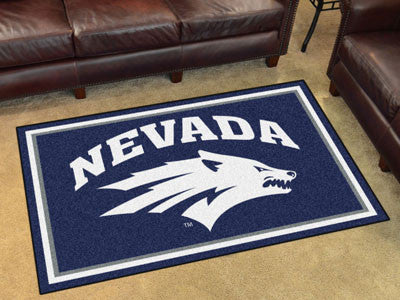 UNR Wolf Pack 4' x 6' Area Rug - FanMats 20281