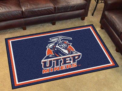 UTEP Miners 4' x 6' Area Rug - FanMats 20289