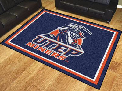 The UTEP Miners 8x10 Area Rug - Fan Mats 20291