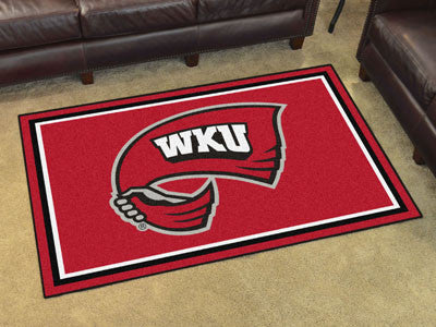 WKU Hilltoppers 4' x 6' Area Rug - FanMats 20307