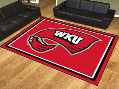 The WKU Hilltoppers 8x10 Area Rug - Fan Mats 20309