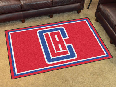 Los Angeles Clippers 4x6 Area Rug FanMats 20430