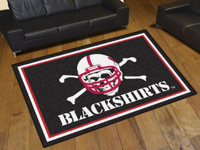 The Nebraska Cornhuskers Area Rug Size 5x8, Fan Mats 20712