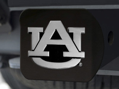 The Auburn  Tigers Black Trailer Hitch Cover - FanMats 21026