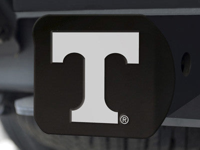 The UT Volunteers Black Trailer Hitch Cover - FanMats 21049