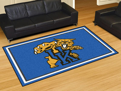 The UK Wildcats Area Rug Size 5x8, Fan Mats 21443