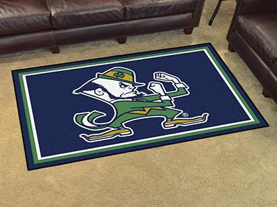 ND Fighting Irish 4' x 6' Area Rug - FanMats 22267