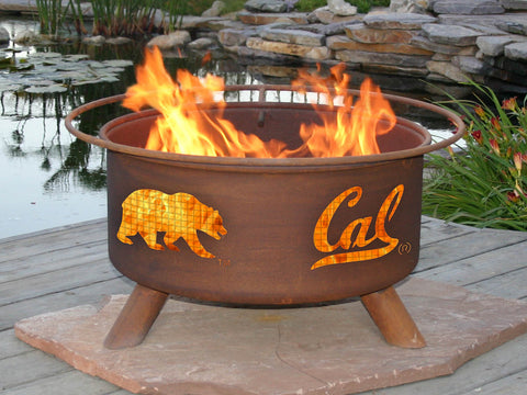 Fire Pit with Grill - University of California Berkeley