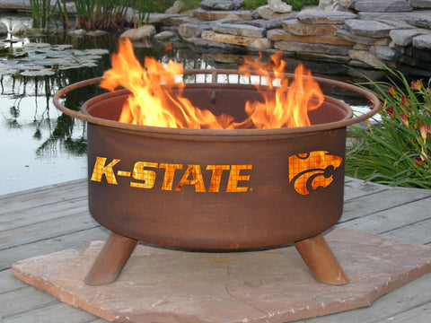 Kansas State Wildcats Grilling Fire pits
