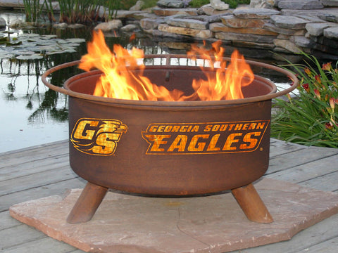 Georgia Southern Eagles Grilling Fire Pits