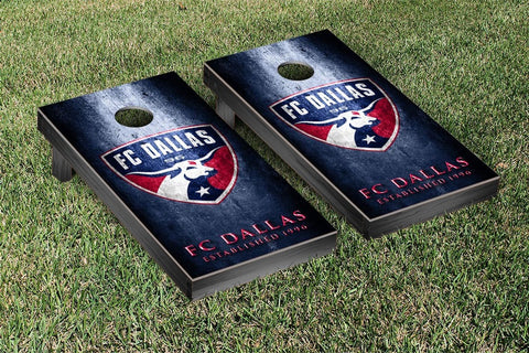 FC Dallas Metal Version Cornhole Game Set by Victory Tailgate