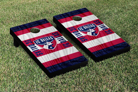 FC Dallas MLS Soccer Scarf Version Cornhole Game Set by Victory Tailgate