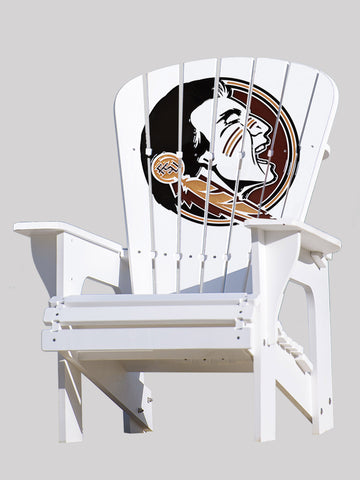 The Florida State Seminoles Adirondack Chairs by Key Largo