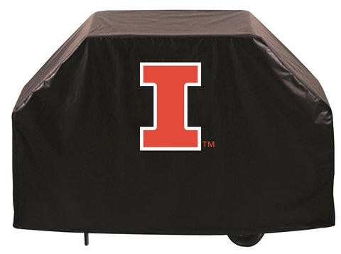 University of Illinois Fighting Illini 72 Inch Grill Cover