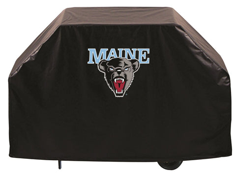 University of Maine Black Bears 72 Inch Grill Cover