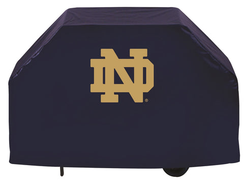 Notre Dame Fighting Irish ND Logo 72 Inch Grill Cover