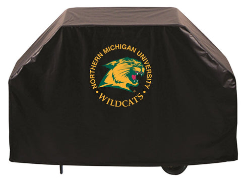 Northern Michigan University Wildcats 72 Inch Grill Cover