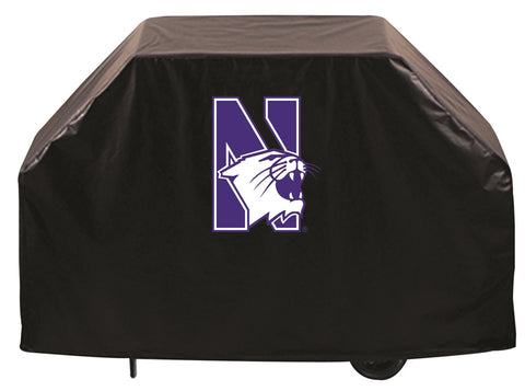 Northwestern University Wildcats 72 Inch Grill Cover