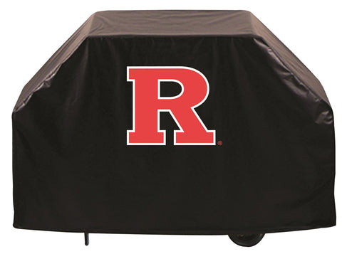 Rutgers University Scralet Knights 72 Inch Grill Cover