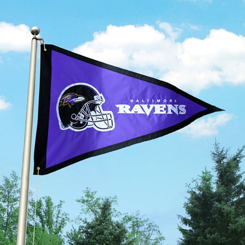 The Baltimore Ravens Giant Pennant Flag Party Animal GPBA