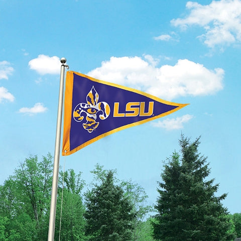 The Louisiana State Tigers Giant Pennant Flag Party Animal GPLSU