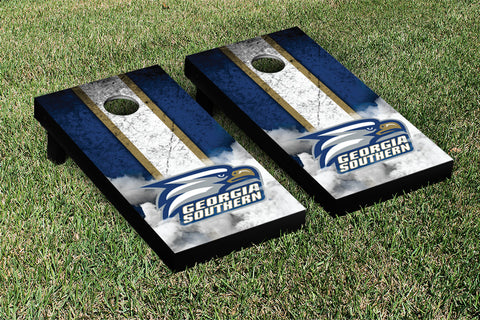 Georgia Southern Eagles Cornhole Game Set Vintage Version - Victory Tailgate 16079