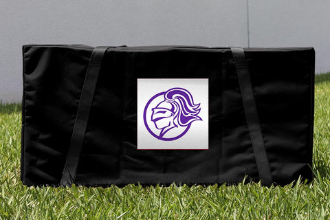 College of the Holy Cross Crusaders Cornhole Storage Carrying Case Victory Tailgate 17006