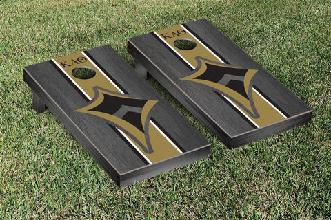 Kappa Alpha Theta Onyx Stained Cornhole Set Victory Tailgate 31310
