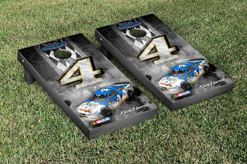 NASCAR Busch Pit Row Version Cornhole Game Set by Victory Tailgate
