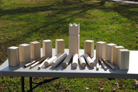 Kubb Pro Competition Set (Viking Chess)