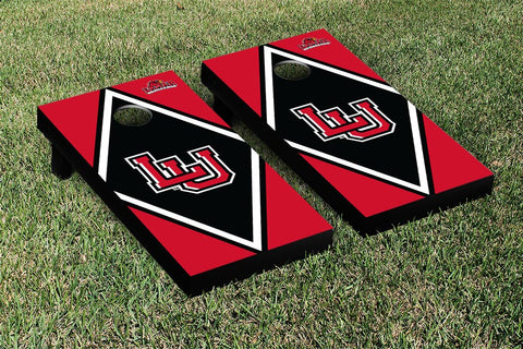 Lamar LU Cardinals Cornhole Game Set Diamond Version - Victory Tailgate 28175