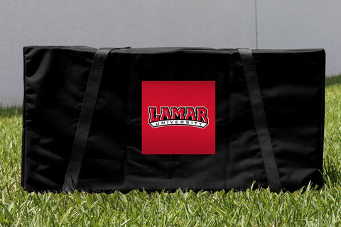 Lamar LU Cardinals Cornhole Carrying Case Victory Tailgate 28182
