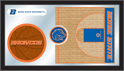 The BSU Broncos Basketball Mirror - HBS MBsktBoiseS