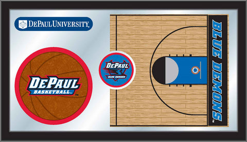 The DePaul Blue Demons Basketball Mirror - HBS MBsktDePaul