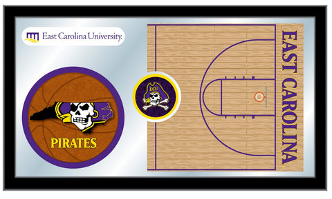 The ECU Pirates Basketball Mirror - HBS MBsktEcarol