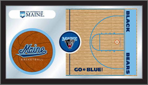 The UMaine Black Bears Basketball Mirror - HBS MBsktMaineU