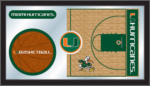 The Miami Hurricanes Basketball Mirror - HBS MBsktMia-FL