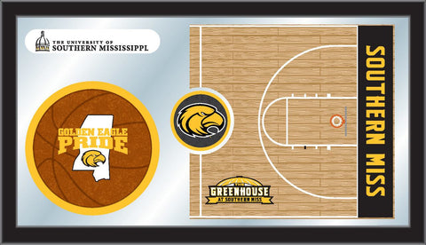 The Southern Miss Golden Eagles Basketball Mirror - HBS MBsktSouMis