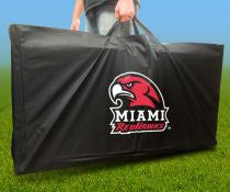 Miami University Cornhole Carry Bag Redhawks from AJJ Corn Hole