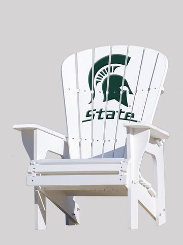 The Michigan State Spartans Adirondack Chairs by Key Largo
