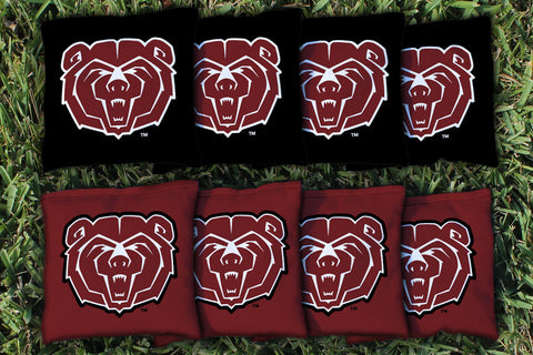 Missouri State MSU Bears Cornhole Bag Replacement Set (corn filled)