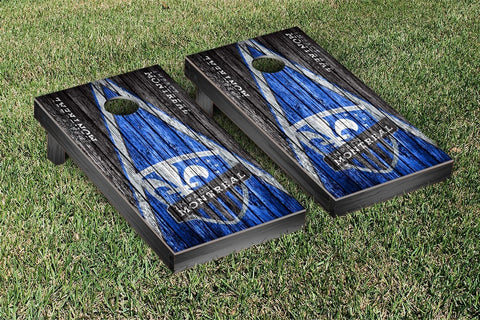 Montreal Impact Weathered Triangle Version Cornhole Game Set by Victory Tailgate