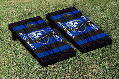 Montreal Impact MLS Soccer Scarf Version Cornhole Game Set by Victory Tailgate