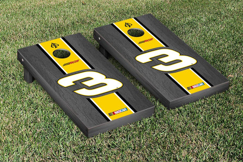 NASCAR Cheerios Onyx Striped Version Cornhole Game Set by Victory Tailgate